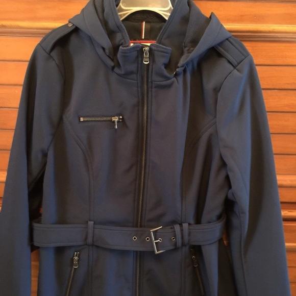 4e2be9309 Tommy Hilfiger Jackets & Coats | Soft Shell Rain Coat Jacket Trench ...